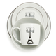 Paris Porcelain 16-Piece Dinnerware Set