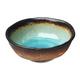 Kotobuki Turquoise Sky Glazed Rice Bowl