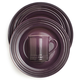 Le Creuset® Cassis 16-Piece Dinnerware Set