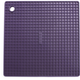 Purple Silicone Grid Pot Holder