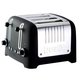 Dualit® Lite Black 4-Slice Soft-Touch Toaster