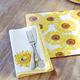 Sunflower Napkins, Set of 4