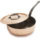 Mauviel® M'héritage 150c Copper Sauté Pan, 3.2 qt.