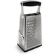 Cuisipro® 4-Sided Box Grater with Ginger Grater Base