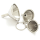 Stainless Steel Mini Funnels, Set of 3