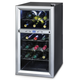 Kalorik 18-Bottle Dual-Zone Wine Bar