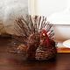 Medium Decorative Twig Turkey