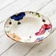 Italian Poppy Round Ceramic Soup Bowl