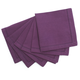 Purple Hemstitch Cocktail Napkins, Set of 6