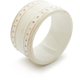 Pearl Earthenware Napkin Ring
