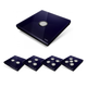 Edisio Cover Plate Diamond Deep Blue