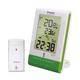Oregon Scientific RMR331ES ECO Solar Clock with Temperature