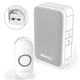 Honeywell Series 3 DC311NBS Wireless Plug-in Doorbell - White