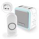 Honeywell Series 5 DC515NBS-NGBS Wireless Plug-in Doorbell