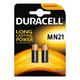 Duracell 12V Alkaline MN21B2 Pack of 2 Batteries