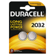 Duracell 3V Lithium 2032 pack of 2 Batteries