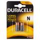 Duracell 1.5V Alkaline MN9100B2 Pack of 2 Batteries