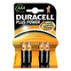 Duracell Plus Power 4 Batteries - AAA