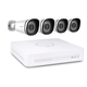 Foscam 1080P NVR Kit Security System 4 x PoE Bullet Cameras