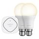 Belkin WeMo Controlled Smart Light Bulb Starter Kit - Bayonet