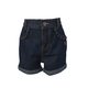 Infant/Toddler Rolled Cuff Denim Short