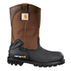 11-Inch CSA Brown/Black Insulated Steel Toe Wellington