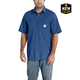 Carhartt Force Mandan Solid Short-Sleeve Woven Shirt