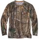 Carhartt Force Cotton Delmont Camo Long-Sleeve T-Shirt