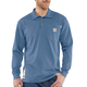 Flame-Resistant Carhartt Force Cotton Long-Sleeve Polo
