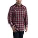 Flame Resistant Snap-Front Plaid Shirt