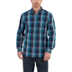 Essential Plaid Button-Down Long-Sleeve Shirt