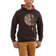 Rain Defender Avondale Midweight Hooded Camo Applique C Sweatshirt