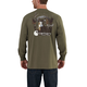 Workwear Graphic Fall Hunting Long-Sleeve Pocket T-Shirt
