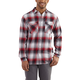 Trumbull Snap Front Plaid Long-Sleeve Shirt