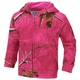 Pink Realtree Xtra Zip Front Hoodie