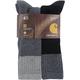 Men's Merino Wool Blend 4-pair sock