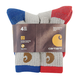 Boy's Merino Wool Blend 4-pair pack