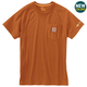 Carhartt Force Cotton Delmont Short-Sleeve T-Shirt