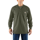 Flame-Resistant Carhartt Force Cotton Long-Sleeve Henley