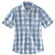 Essential Plaid Button Down Short Sleeve Shirt