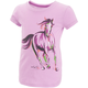 Painterly Horse Slub Tee