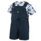 Infant/Toddler Denim Shortall Set