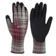 Women's Plaid All Purpose Nitrile Grip