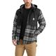 Pawnee Hooded Plaid Shirt Jac
