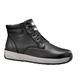 4-Inch Black Lightweight Wedge Boot