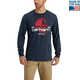 Lubbock Graphic Filled Flag Long-Sleeve T-Shirt