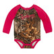 Camo Raglan Long Sleeve Bodyshirt