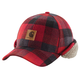 Timberville Plaid Cap/Sherpa-Lined