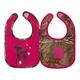 Oh deer Camo Bib 2pc Bib gift set