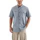 Carhartt Force Ridgefield Plaid Button Down Short-Sleeve Shirt